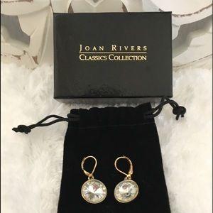 Joan Rivers Lever Back Earrings